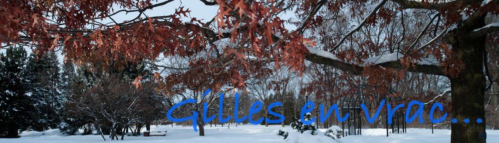 Gilles en vrac…